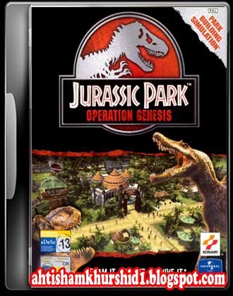 Game pc operation full download park jurassic genesis free